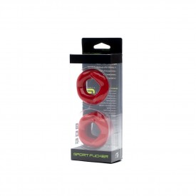 REVOLUTION RING COMBO SET ROJO
