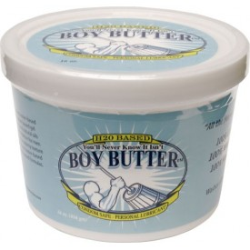 WATER BASED LUBRICANT H2O by BOY BUTTER 16OZ