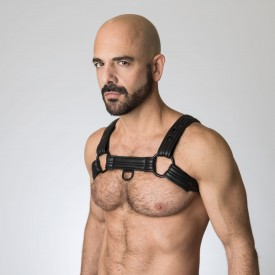 NEOPRENE BULLDOG HARNESS 665