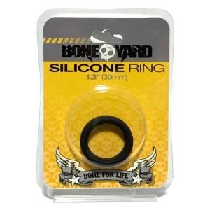 3X STRETCH SILICONE COCKRING by BONE YARD