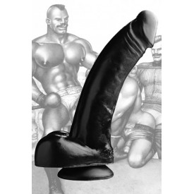 DONG XXL TPE NEGRO 30CM BLACK MAGIC by TOM OF FINLAND