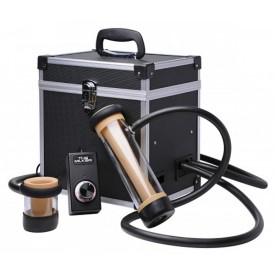 THE MILKER DUEL CYLINDER DELUXE STROKER MACHINE by LOVE BOTZ