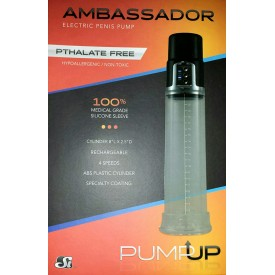 ELECTRIC PENIS PUMP AMBASSADOR BY SI NOVELTIES