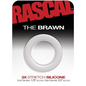 COCKRING ANCHO 3X STRETCH SILICONA THE BRAWN by RASCAL