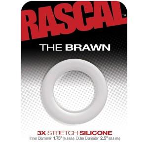 COCKRING EPAIS EN SILICONE THE BRAWN by RASCAL