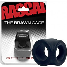 BRAWN CAGE 3X STRETCH SILICONE COCKSLING by RASCAL