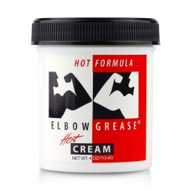 ELBOW GREASE HOT CREME LUBRIFIANTE CHAUFFANTE 113G