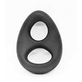 COCKRING BALLSTRETCHER EN SILICONE STABILIZER NOIR BY SPORTFUCKER