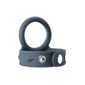 ADJUSTABLE SILICONE STRAP COCK&BALL LARGE