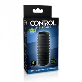 Ribbed silicone erection enhancer CONTROL by Sir Richard's