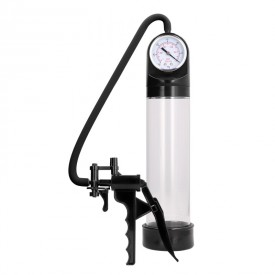 Elite Pump With Advanced PSI Gauge - Transparent