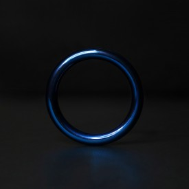 STEEL GLANSRING BLUE ROUND